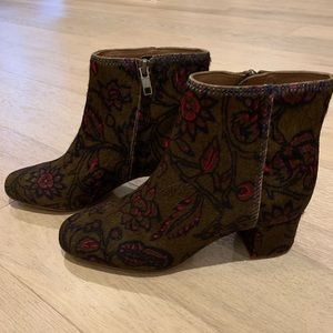 Adriel booties - never worn